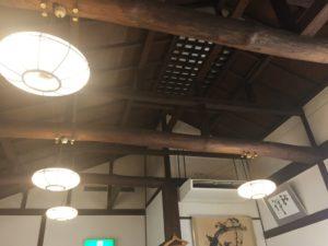 蕎麦奉行の天井